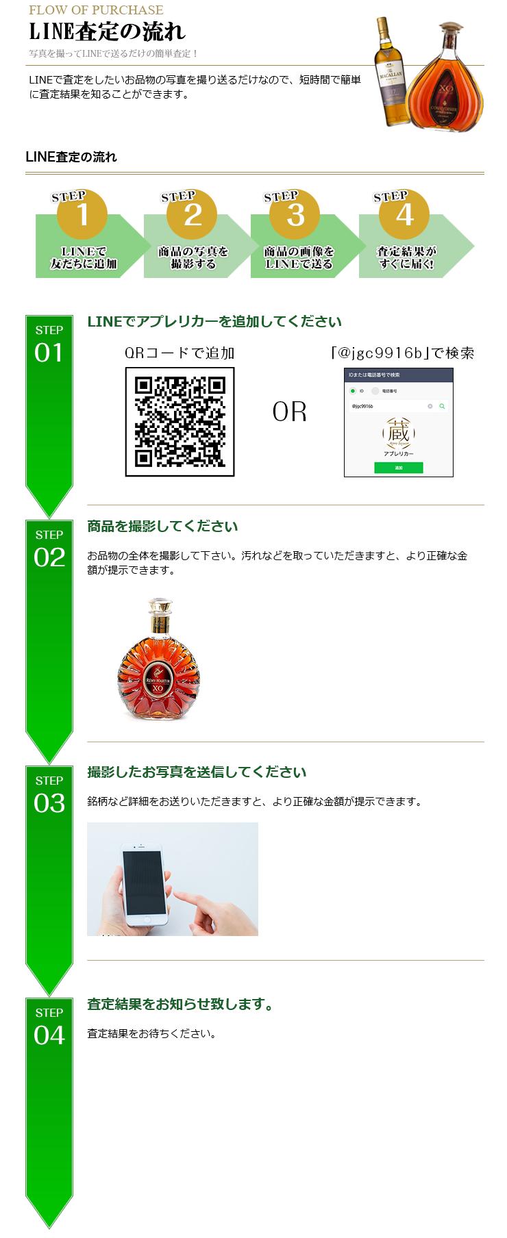 LINE査定・買取