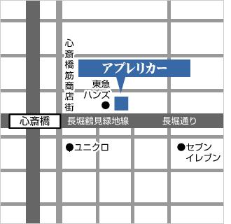 心斎橋店地図